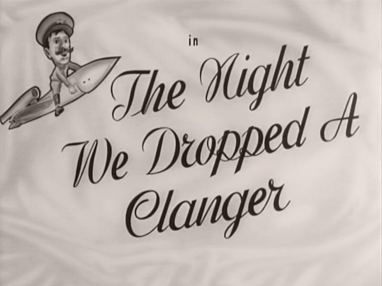Main title from The Night We Dropped a Clanger (1959) (10)