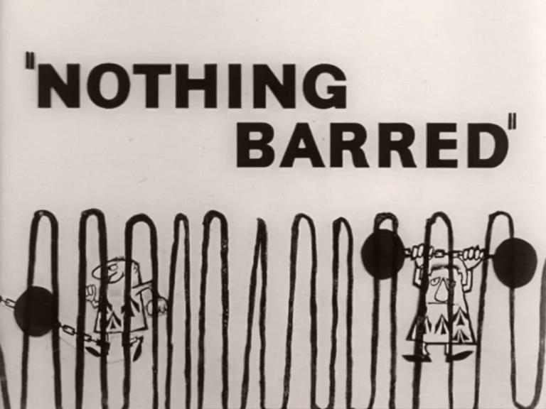 Main title from Nothing Barred (1961) (1)