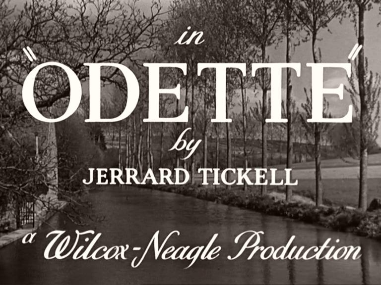 Main title from Odette (1950) (4). By Jerrard Tickell