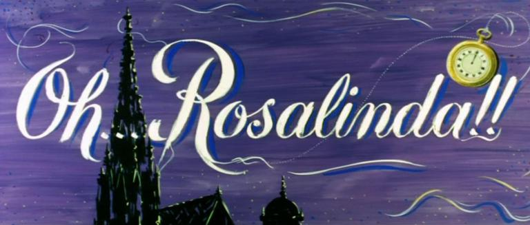 Main title from Oh… Rosalinda!! (1955) (3)