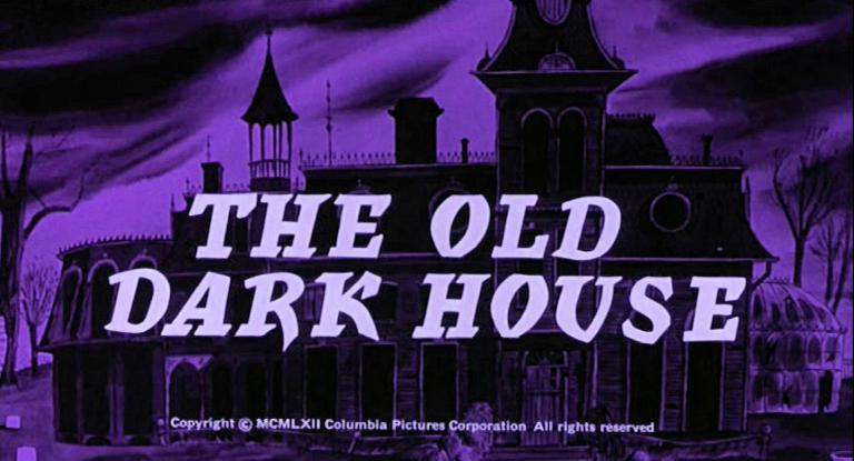 Main title from The Old Dark House (1963) (3).  Copyright 1962 Columbia Pictures Corporation.  All rights reserved