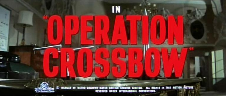Main title from Operation Crossbow (1965)