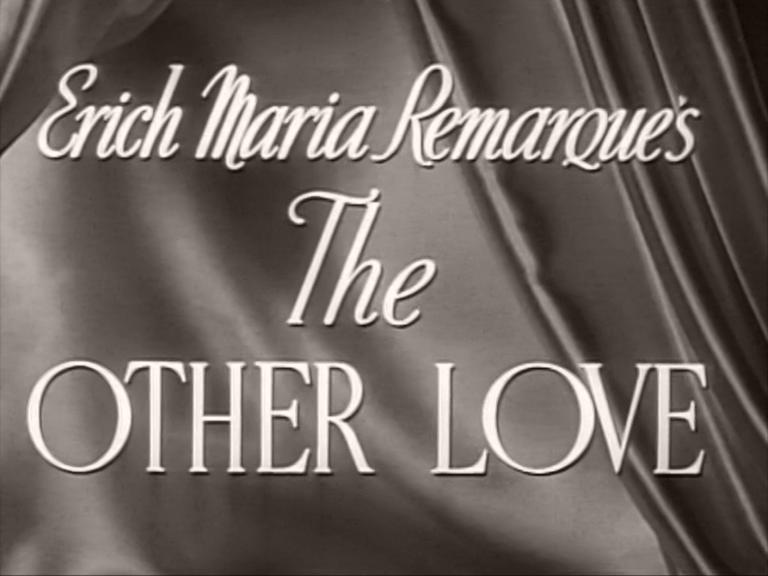 Main title from The Other Love (1947) (4)