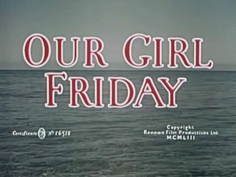 Main title from Our Girl Friday (1953) (3)