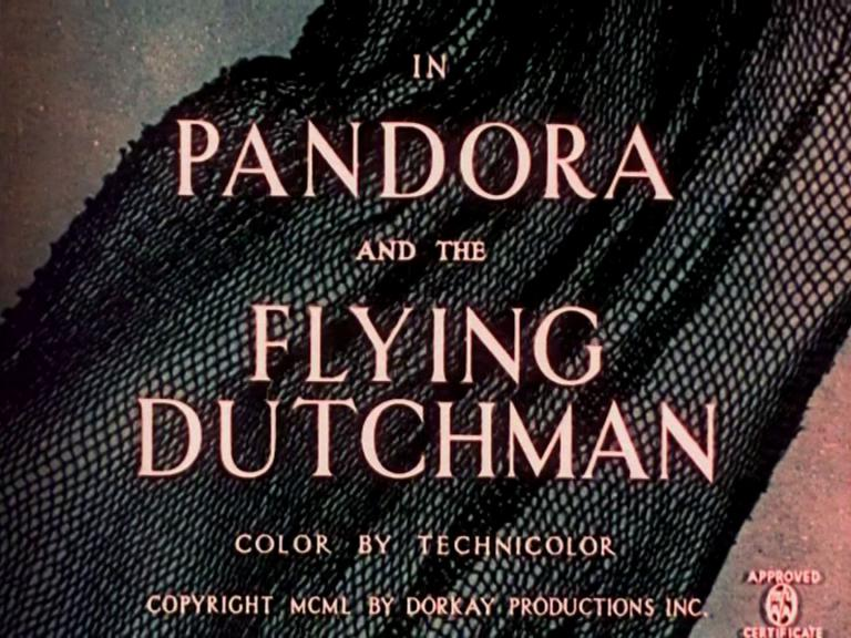 Main title from Pandora and the Flying Dutchman (1951) (2)