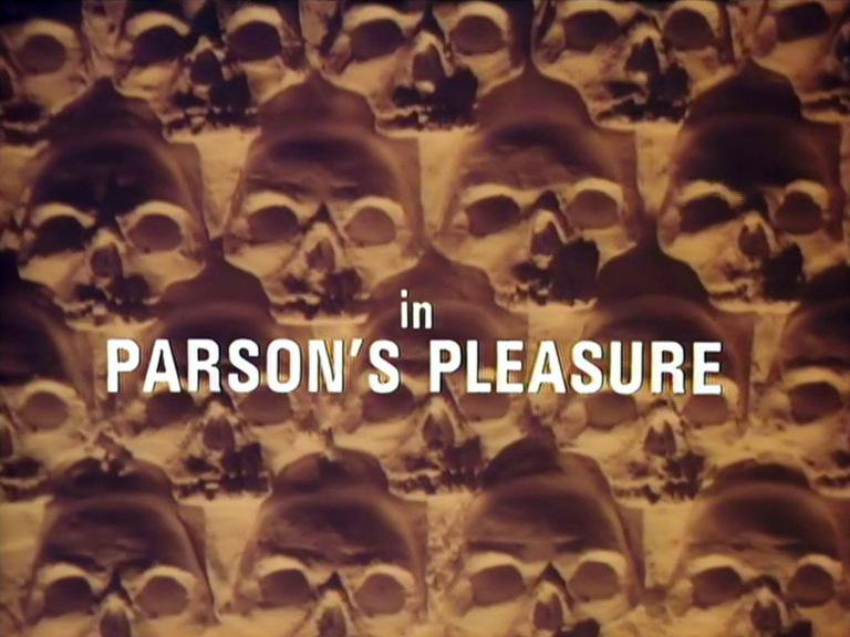 Main title from the 1980 'Parson's Pleasure' episode of Tales of the Unexpected (1979-88) (4)