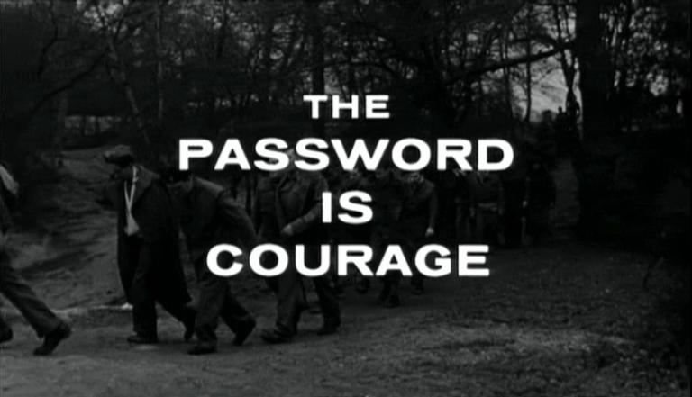 Main title from The Password Is Courage (1962)