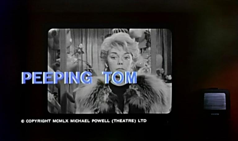 Main title from Peeping Tom (1960) (4)