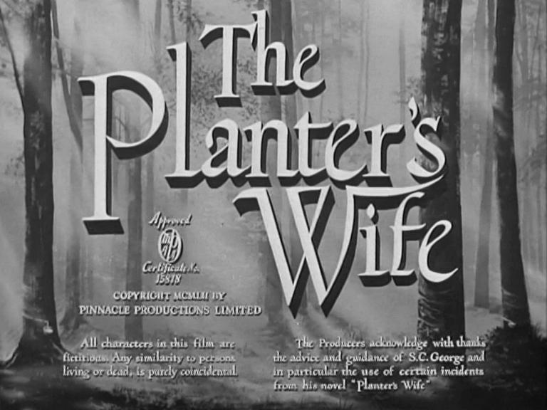 Main title from The Planter's Wife (1952) (4)