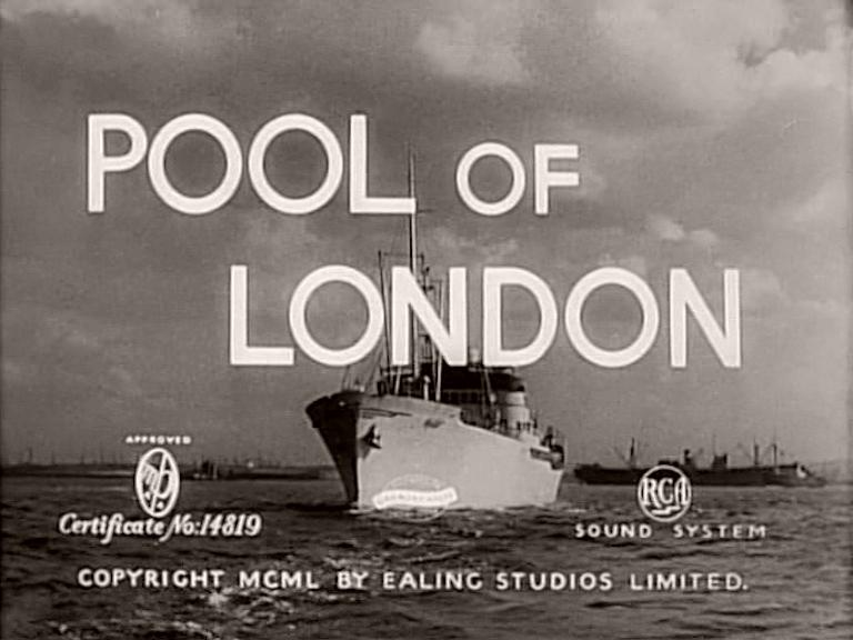 Main title from Pool of London (1950)
