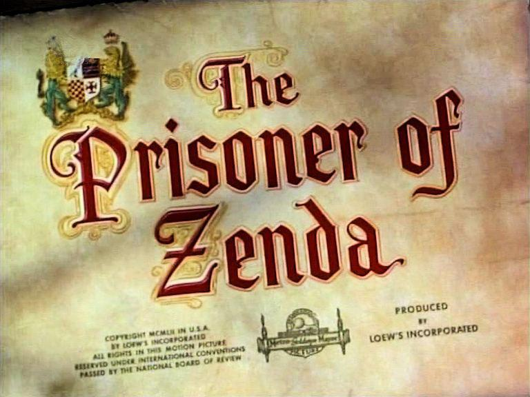 Main title from The Prisoner of Zenda (1952)