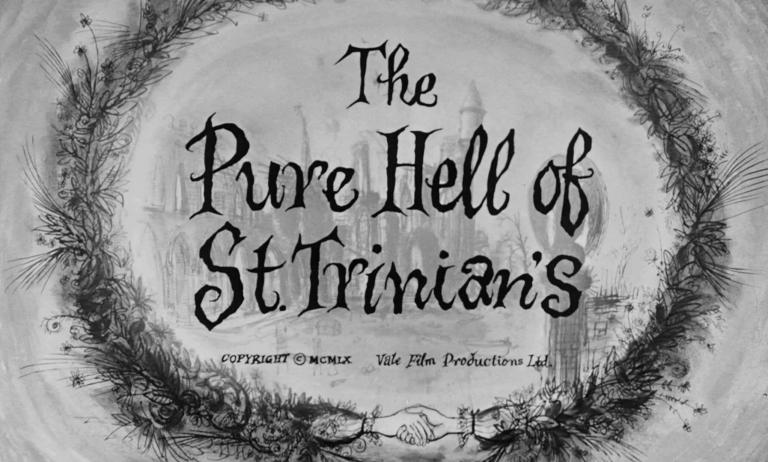 Main title from The Pure Hell of St. Trinian's (1960) (3)