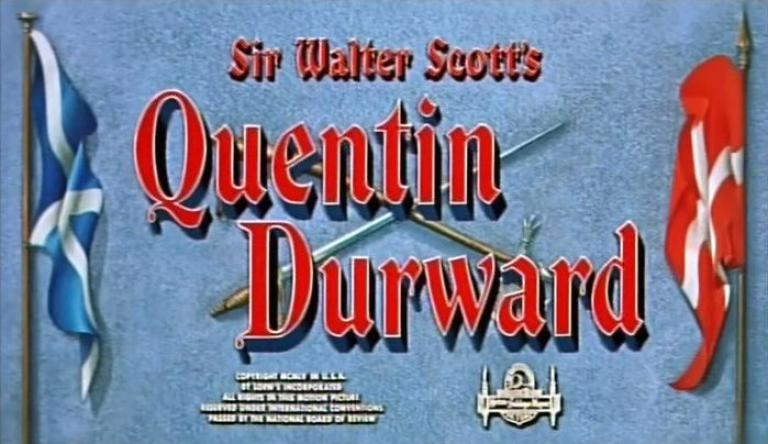 Main title from Quentin Durward (1955)