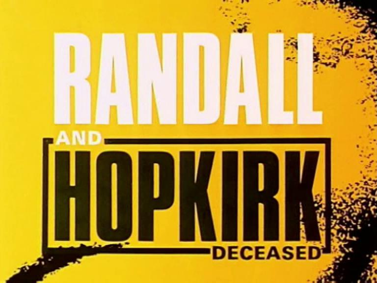 Main title from Randall and Hopkirk (Deceased) (1969-1971) (1)