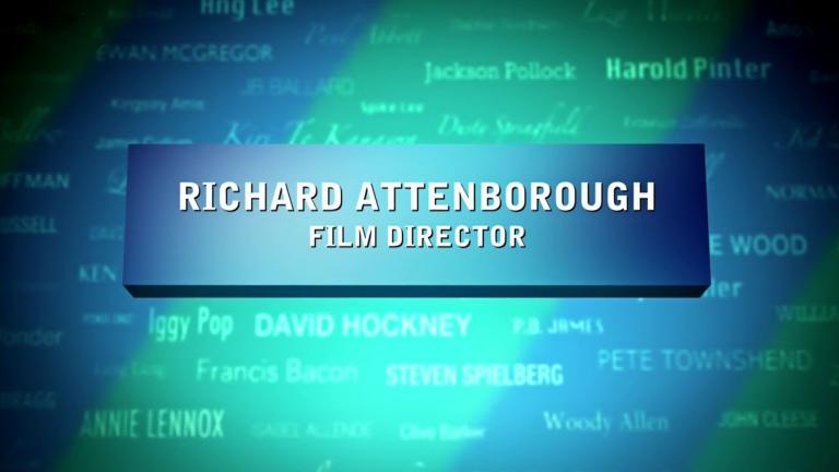Opening credits from the 2016 'Richard Attenborough' episode of The South Bank Show Originals (1)