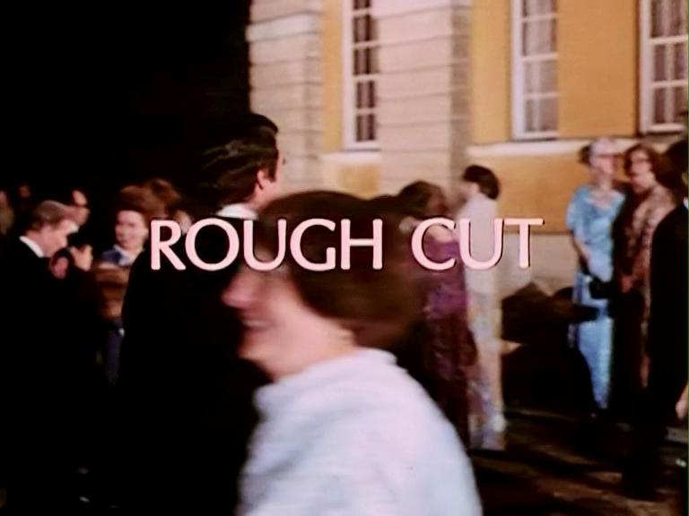 Main title from Rough Cut (1980) (7)