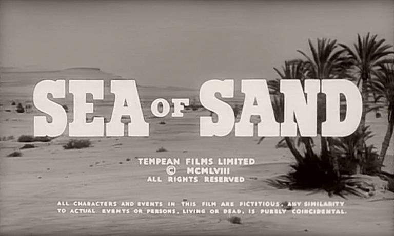 Main title from Sea of Sand (1958)