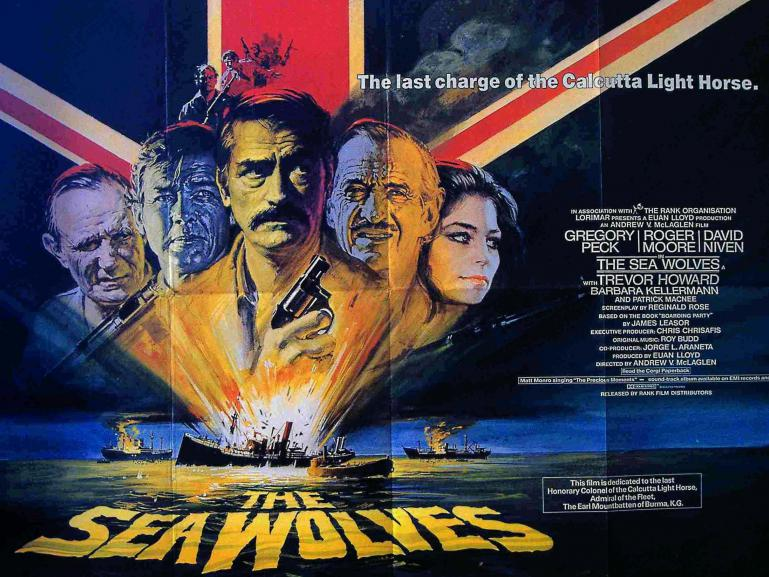 Poster from The Sea Wolves (1980)
