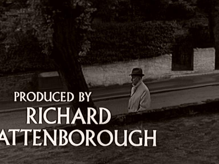 Main title from Seance on a Wet Afternoon (1964) (14).  Produced by Richard Attenborough