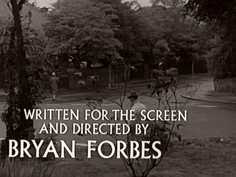 Main title from Seance on a Wet Afternoon (1964) (15).  Written for the screen and directed by Bryan Forbes