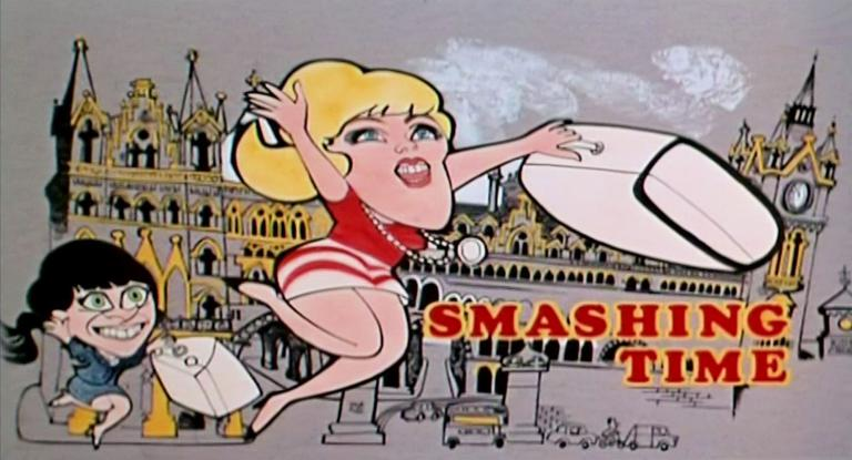 Main title from Smashing Time (1967) (4)