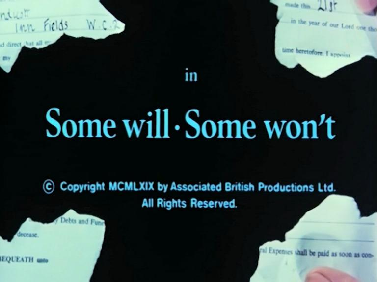 Main title from Some Will, Some Won't (1970) (3)