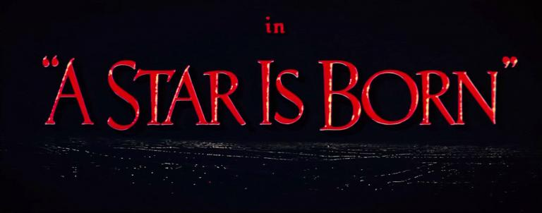 Main title from A Star Is Born (1954) (4)