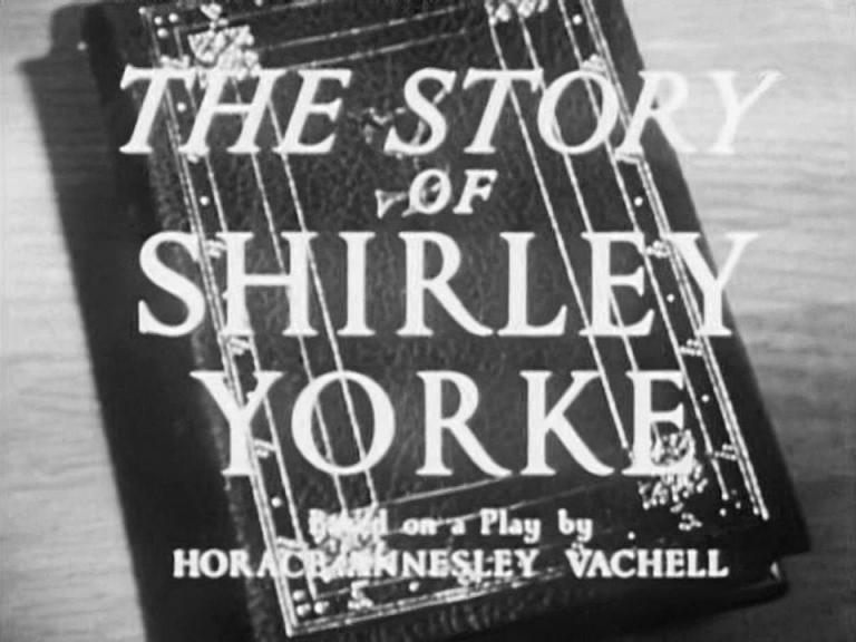 Main title from The Story of Shirley Yorke (1948)
