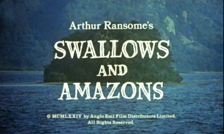 Main title from Swallows and Amazons (1974)
