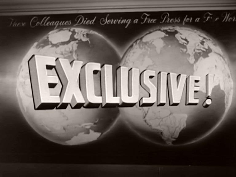 Opening credits from the 1957 'Tatiana, the Czar's Daughter' episode of Overseas Press Club – Exclusive! (1957) (1)