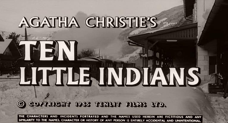 Main title from Ten Little Indians (1965) (1)