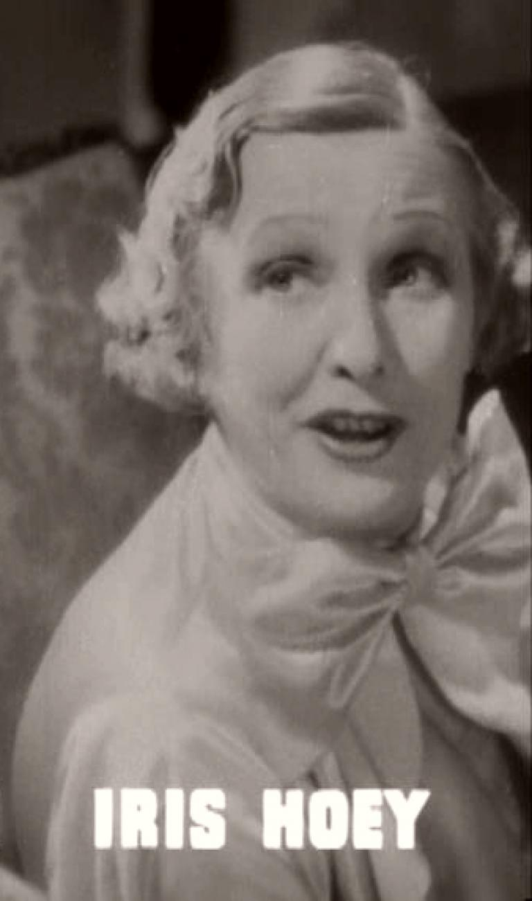 Main title from The Tenth Man (1936) featuring Iris Hoey