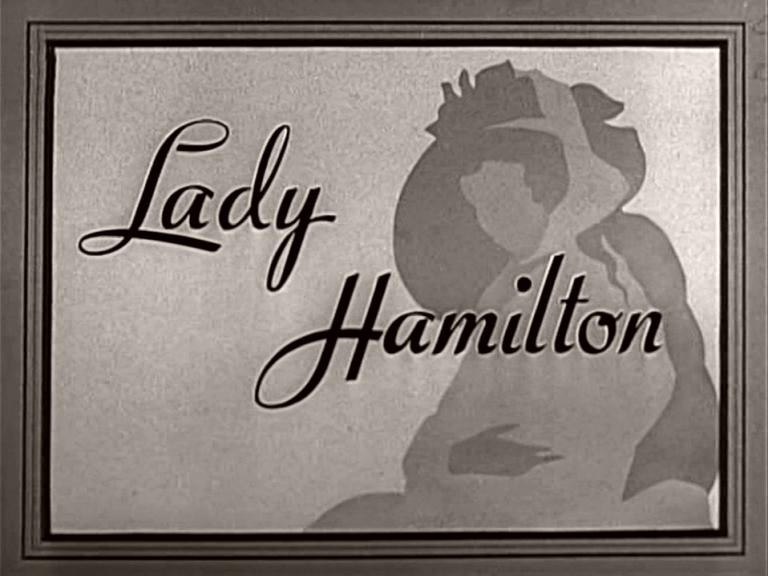 Main title from That Hamilton Woman (1941) (3).  British title 'Lady Hamilton'