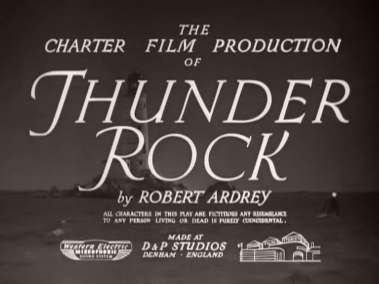 Main title from Thunder Rock (1942) (2)
