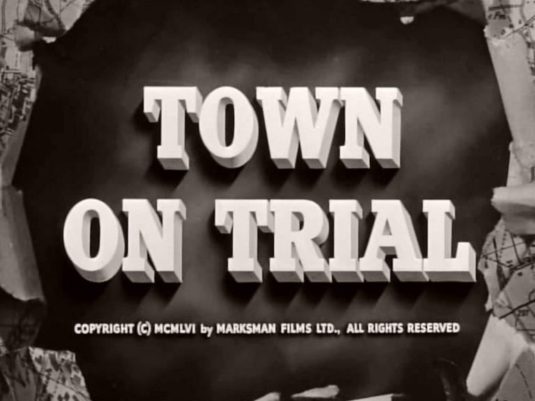 Main title from Town on Trial (1957)