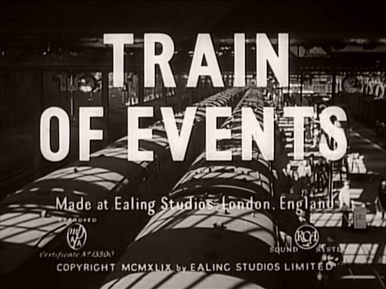 Main title from Train of Events (1949)