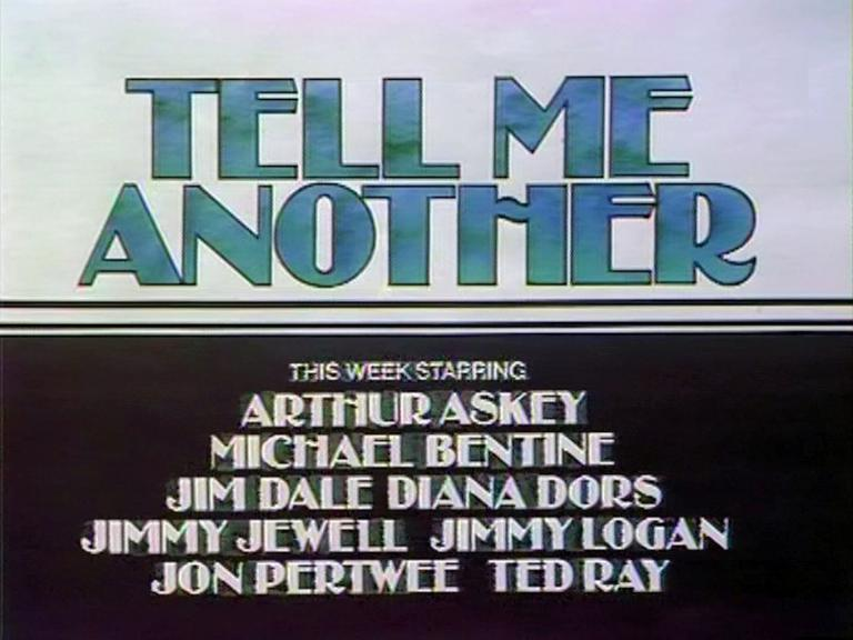 Main title from the 1976 'True Stories About Families and Relations' episode of Tell Me Another (1976-1979) (2)