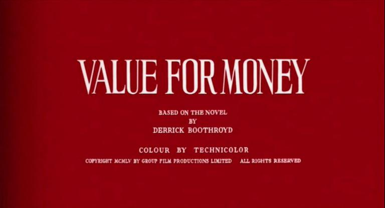 Main title from Value for Money (1955) (4)
