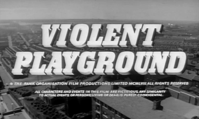 Main title from Violent Playground (1958) (5)