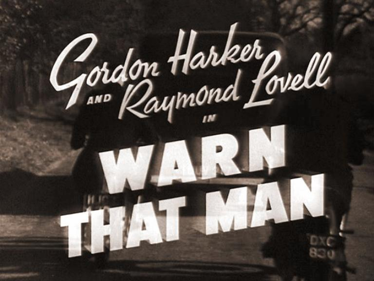 Main title from Warn That Man (1943)