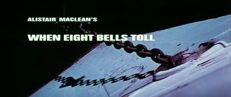 Main title from When Eight Bells Toll (1971) (3).  Alistair MacLean's When Eight Bells Toll