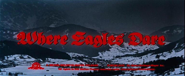 Main title from Where Eagles Dare (1968)