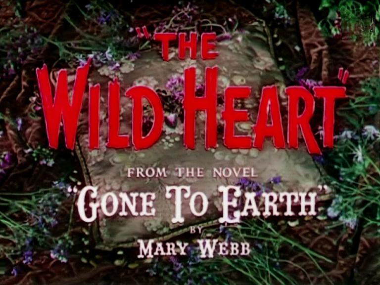 Opening credits from Gone to Earth (1950) [as The Wild Heart] (3)