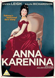 Anna Karenina DVD from Studio Canal.  Features Vivien Leigh as Anna Karenina