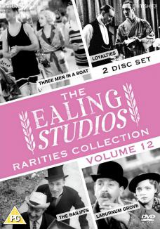 The Ealing Studios Rarities Collection – Volume 12 from Network and The British Film.  Features Three Men in a Boat, Loyalties, The Bailiffs and Laburnum Grove