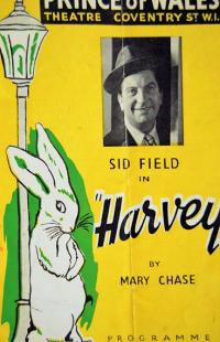 Programme from Harvey (1950) at the Prince of Wales Theatre, London (1)