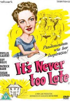 It's Never Too Late DVD from Network and The British Film.  Features Phyllis Calvert as Laura Hammond