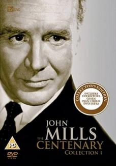 The John Mills Centenary Collection 1 DVD from ITV Studios