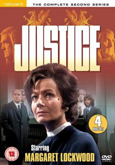 Margaret Lockwood in the Network DVD release of Justice series two