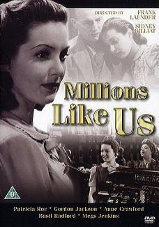 Millions Like Us DVD with Patricia Roc from Simply Media, 2004